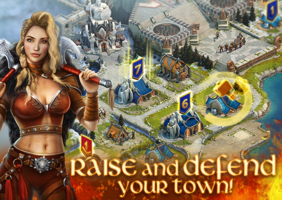 Vikings: War of Clans na PC - do pobrania za darmo